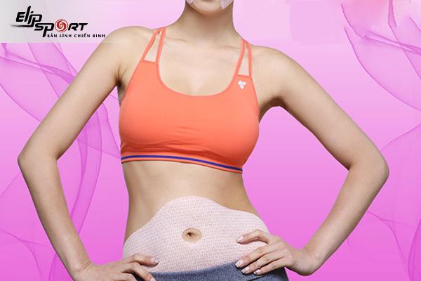 tác dụng của miếng dán giảm mỡ bụng