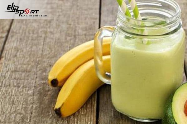 sinh tố chuối sữa chua giảm cân