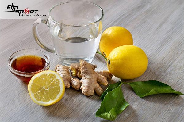 trà gừng giảm cân