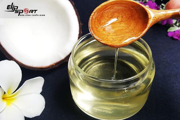 chăm sóc da bằng dầu dừa