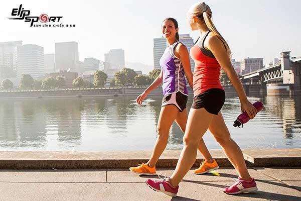 đi bộ có giảm mỡ bụng không