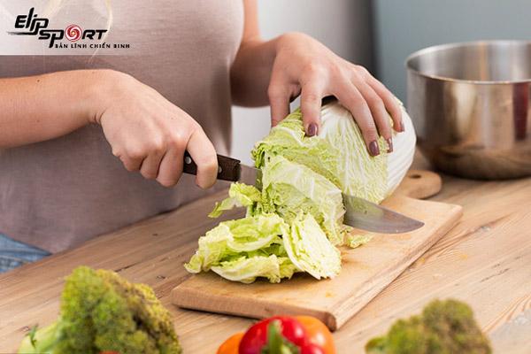 ăn rau bắp cải giảm cân
