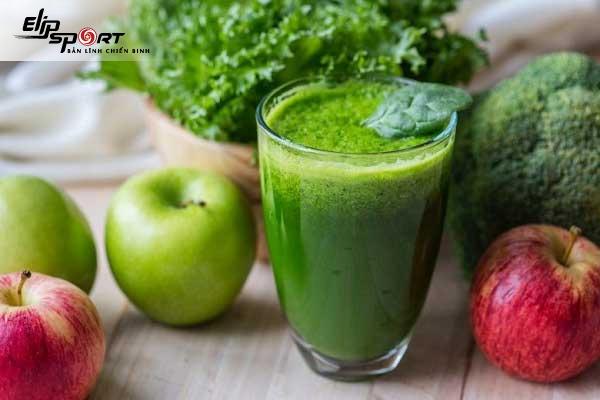 công thức sinh tố cần tây giảm cân