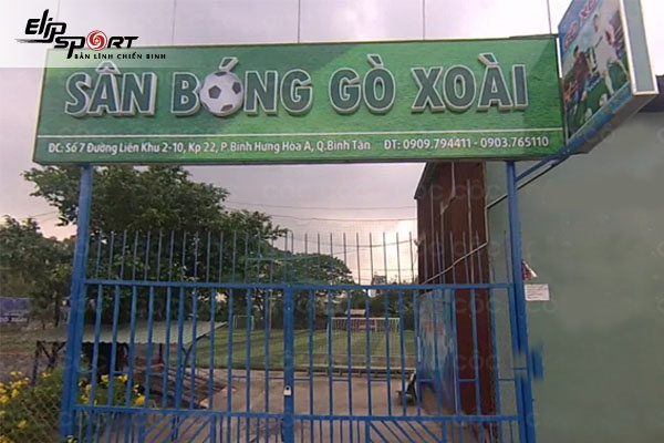 sân bóng chuyền ở Bình Tân