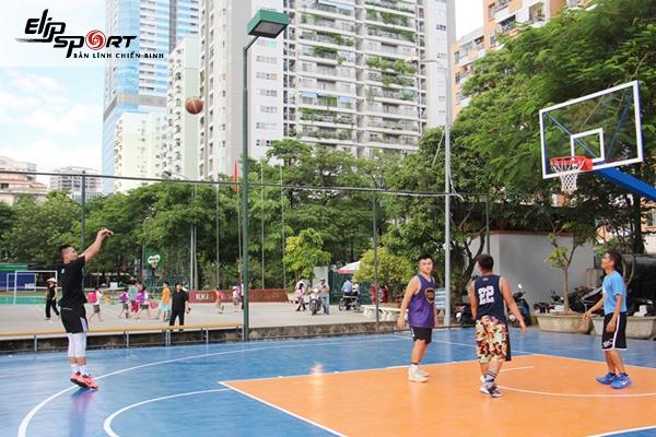 sân bóng rổ Hồ Chí Minh
