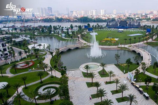 công viên chạy bộ Hồ Chí Minh