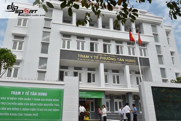 trạm y tế Hồ Chí Minh