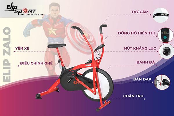 Xe đạp tập tốt nhất Quảng Trị