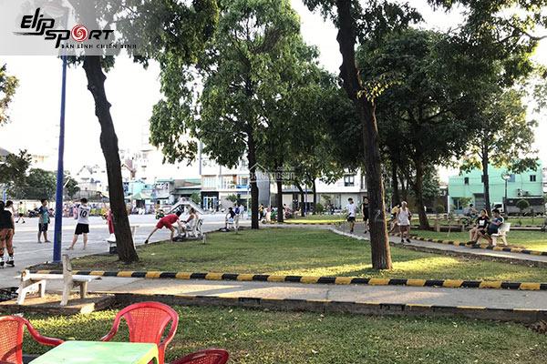 chạy bộ ở Tân Phú, Hồ Chí Minh