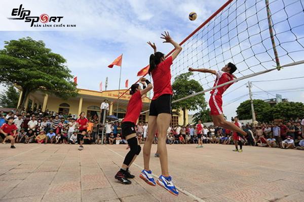 Sân bóng chuyền ở quận 12 Hồ Chí Minh