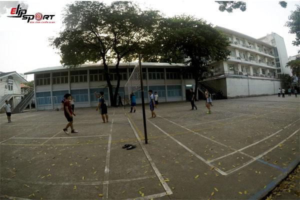 sân bóng chuyền ở Quận 10, Hồ Chí Minh