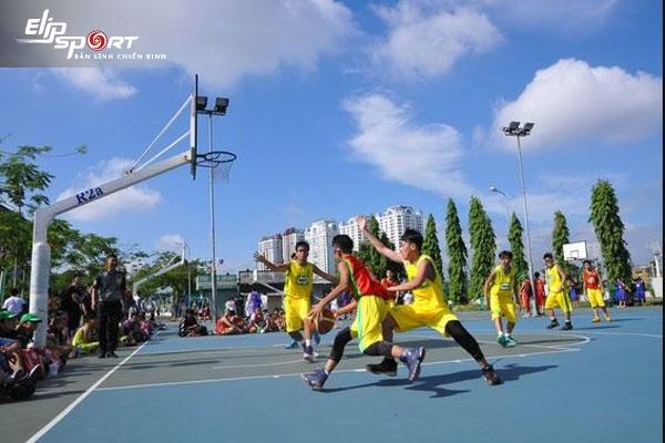 sân bóng rổ Gò Vấp Hồ Chí Minh