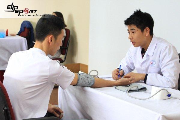 Khám bệnh ở trạm y tế Gò Vấp Hồ Chí Minh