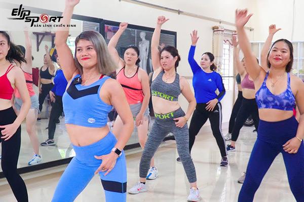 phòng tập aerobic ở Hà Nội