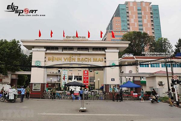 bệnh viện ở Hà Nội - Bệnh viện Bạch Mai