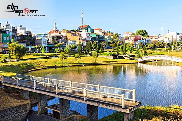chạy bộ ở TP. Bảo Lộc, Lâm Đồng