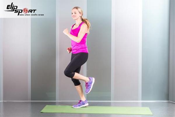 Chạy bộ tại chỗ giảm cân