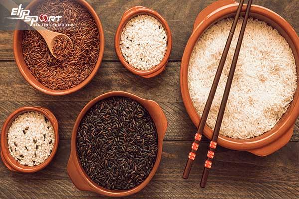 giảm cân gạo lứt
