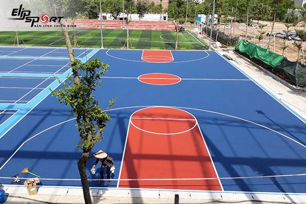 sân bóng chuyền ở TP. Nha Trang