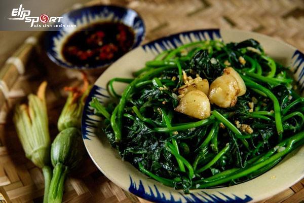 ăn rau lang giảm cân