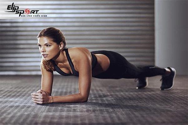 Plank giảm cân toàn thân