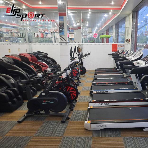 Điểm bán dụng cụ thể dục thể thao, gym Phú Riềng - Bình Phước