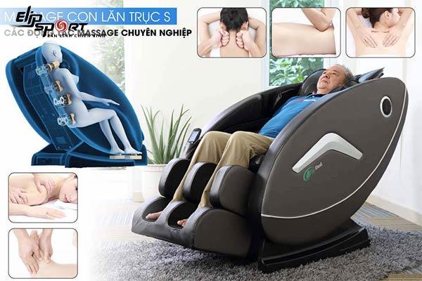 Ghế massage toàn thân uy tín chất lượng nhất Bình Dương