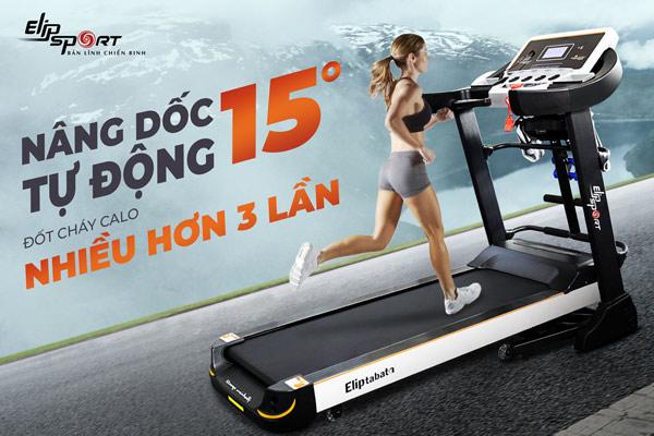 máy chạy bộ điện giá rẻ tốt nhất TP. Nha Trang