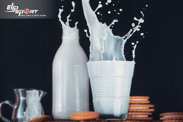 sữa bao nhiêu calo