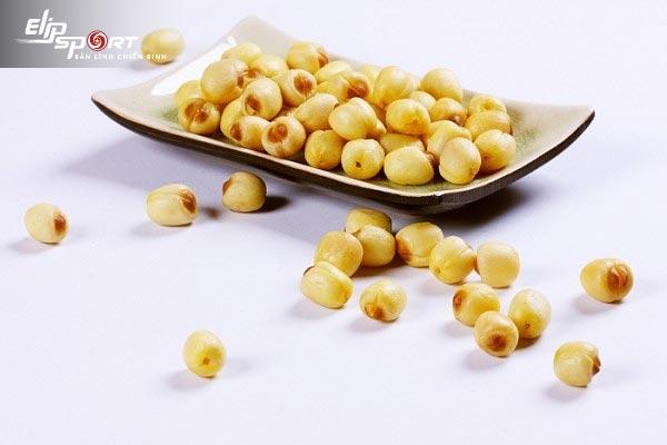 hạt sen bao nhiêu calo