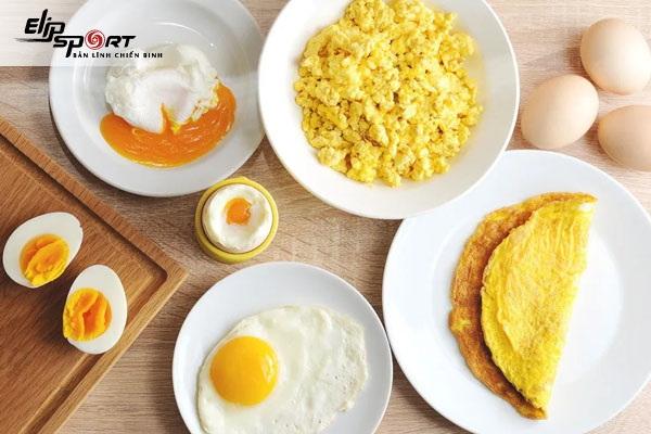 ăn trứng gà có béo không