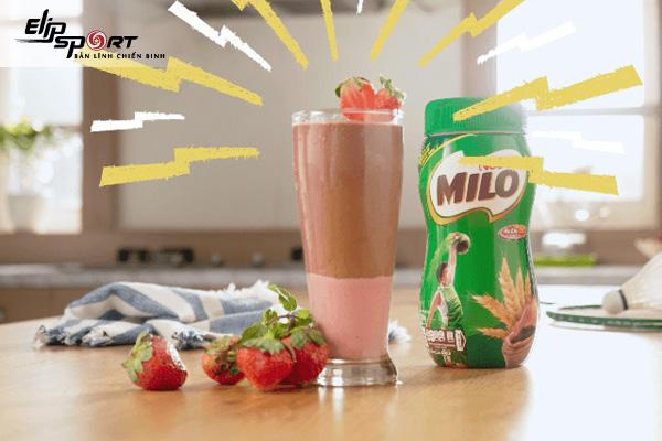 sữa milo có tác dụng gì