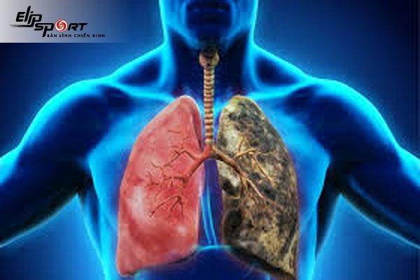 nám phổi có nguy hiểm không