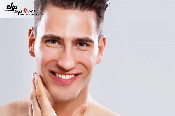cách giảm mỡ mặt cho nam