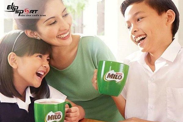 uống sữa milo có nóng không