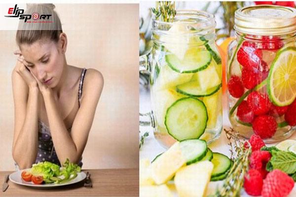 cách làm nước detox tăng cân