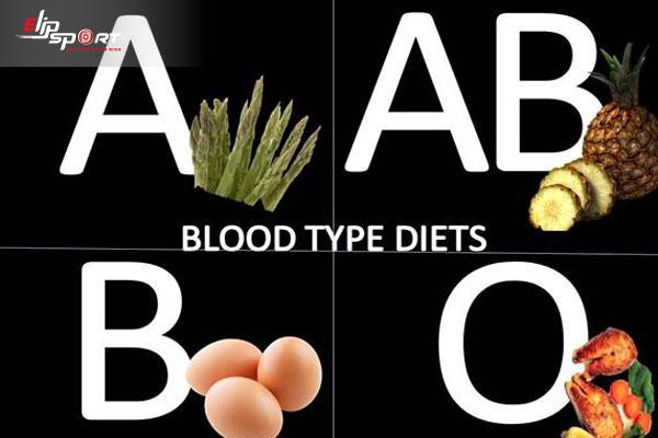 chế độ tăng cân theo nhóm máu
