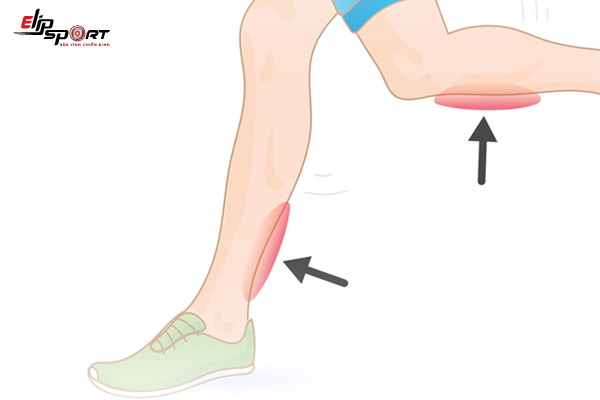 đi bộ bị đau chân
