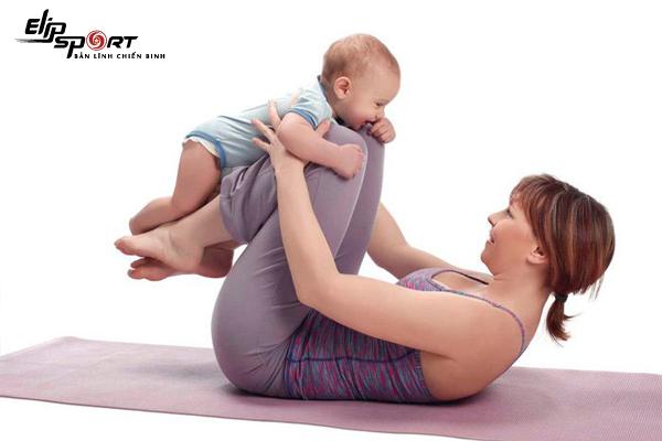 giảm mỡ bụng sau sinh