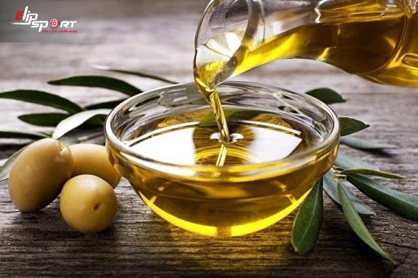 món ăn sức khỏe sử dụng dầu ôliu nấu