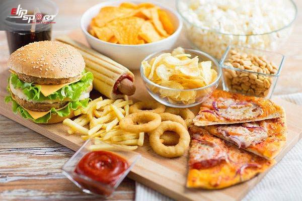 món ăn sức khỏe hạn chế thức ăn nhanh