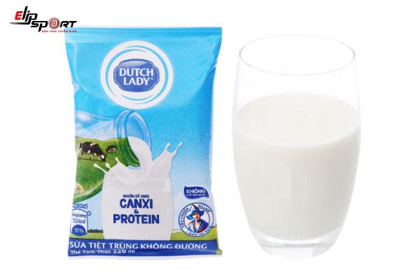 sữa tươi không đường cho bà bầu