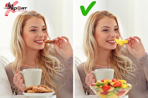 Ăn vặt làm tăng cân