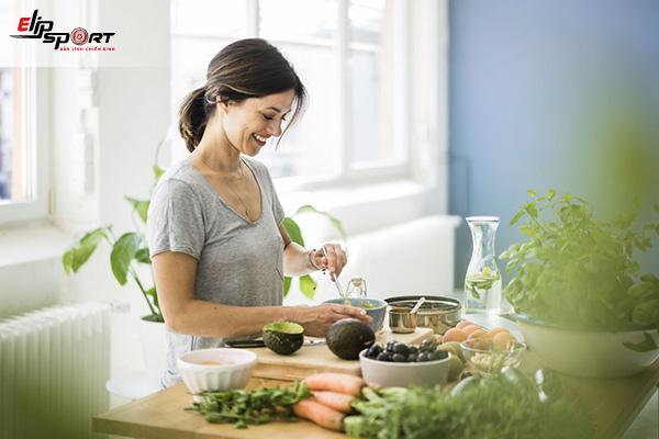 chế độ ăn uống cho sức khỏe tuổi 40