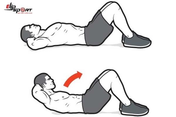 khắc phục việc tập bụng bị đau cổ
