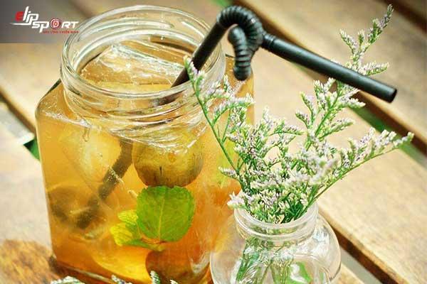 Uống nước đậu đen rang tăng cân