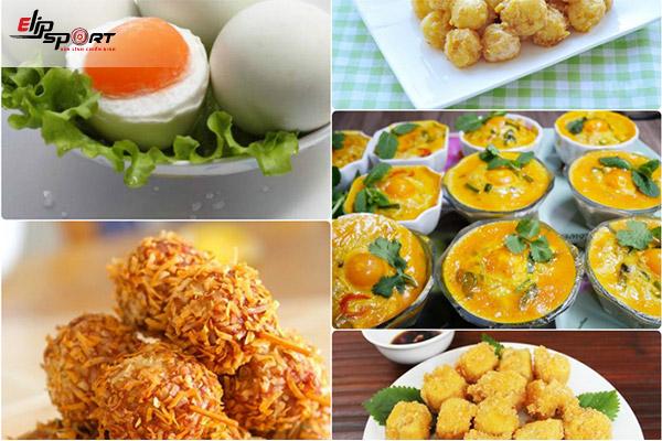 Dinh dưỡng trong trứng vịt