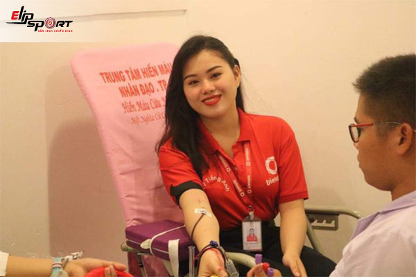 Lưu ý trước khi hiến máu