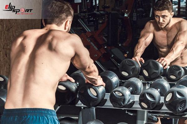 những bài tập gym giảm mỡ bụng cho nam