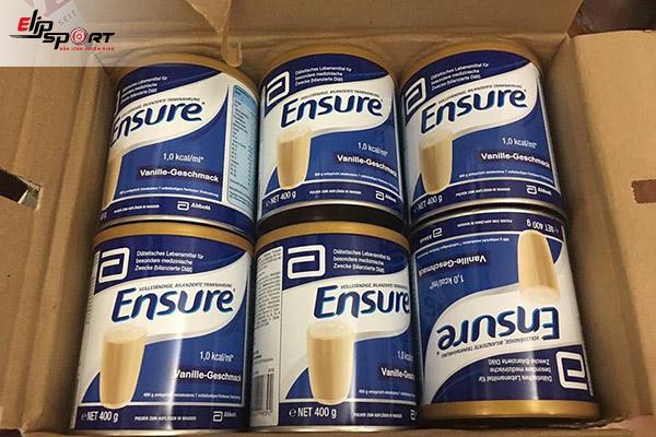 Tác dụng của sữa Ensure